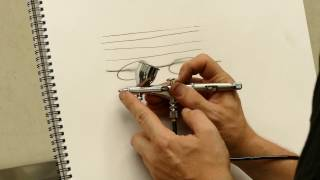 Airbrush Quick Tips : Creating Fine Lines