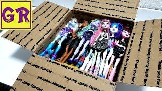 Куклы МОНСТЕР ХАЙ - посылка из Америки с куклами Monster high ТОРА В ПРОЛЁТЕ ее в коробке нет