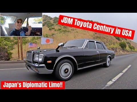 アメリカでトヨタセンチュリーを走らせてみた!運転も楽しいけど後部座席が最高!驚く車内オプションまで徹底分析!Driving the Emperor's Toyota Century in USA