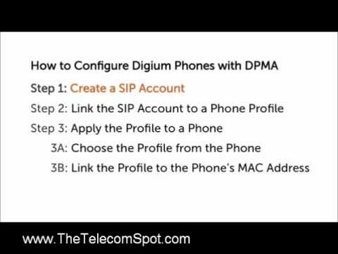 How to configure Digium phone with Asterisk and DPMA Part 1