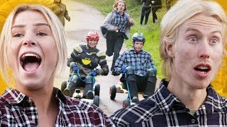 """KÖR BARA KÖR!"" | LÅDBILSRACE! | THE GREEN CHALLENGE | Ep 2"