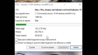 Sfr Fiber Ubuntu download speedtest