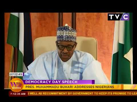 Wake Up Nigeria 29th May 2018 | President Buhari Democracy Speech