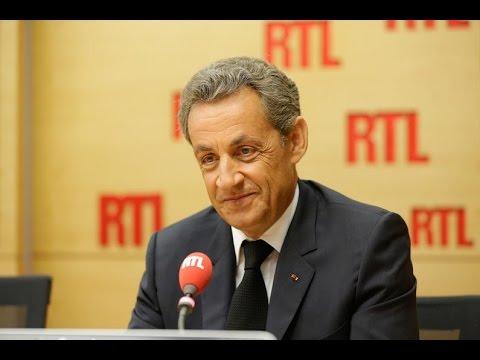 Nicolas Sarkozy, invité de RTL le 29 août 2016