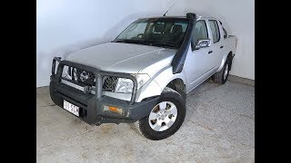 Turbo Diesel 4×4 Manual Nissan Navara D40 ST-X Dual Cab 2006 Review For Sale