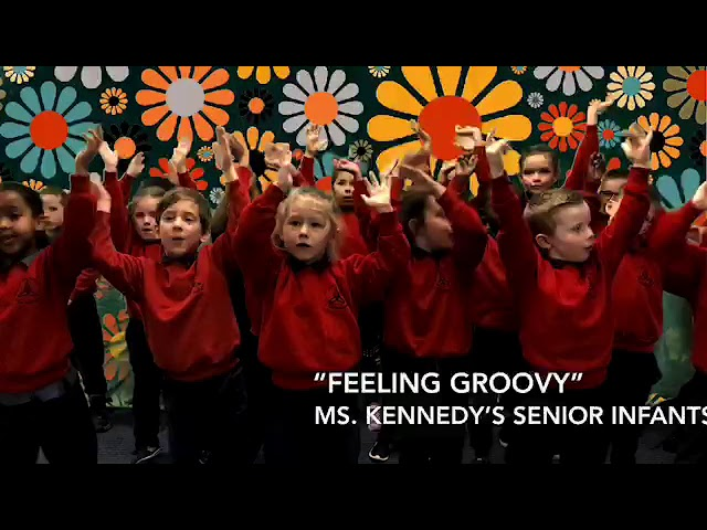Feeling Groovy in Senior Infants
