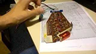 Testing a working Anita MK12 calculator register card