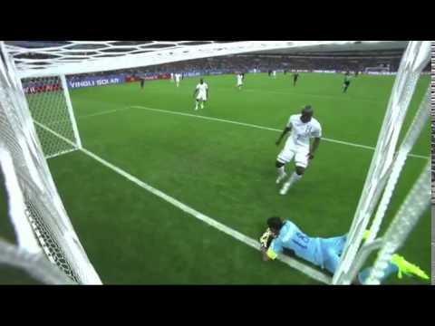 France-Honduras 2-0 Benzema goal-line technology RTVS