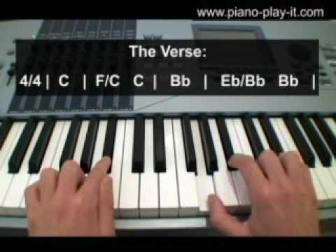 Happy Birthday By Stevie Wonder Piano Tutorial Youtube
