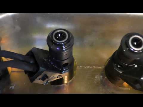 Как работает двигатель после промывки форсунок чистка инжектора