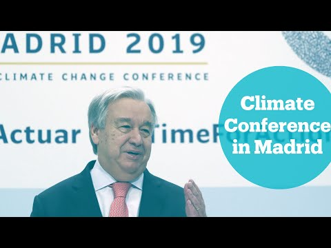 UN hosts climate conference in Madrid