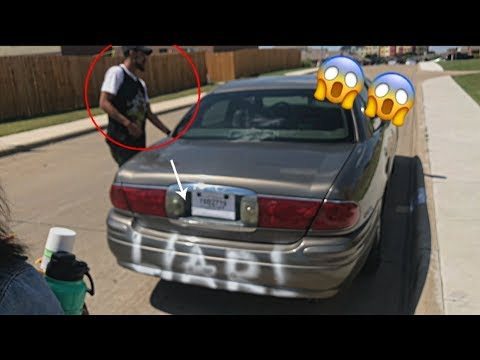 SOMEONE SPRAY PAINTED YOUR CAR PRANK ON BROTHER!!! (HILARIOUS!!!)