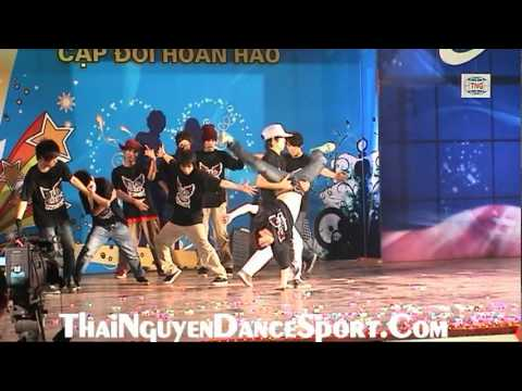 Nhom Nhay HipHop UFO - Thai Nguyen - Cap Doi Hoan Hao Thai Nguyen