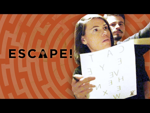 Museum Escape Room ft. Melanie Lynskey! (Escape! with Janet Varney)
