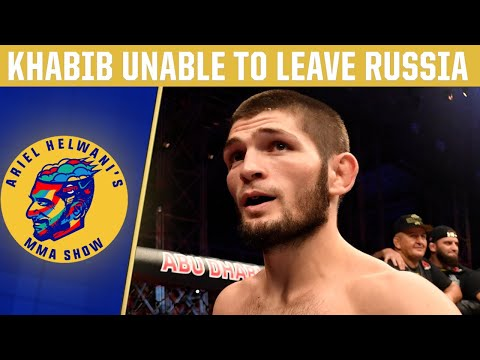 Khabib Nurmagomedov Stuck In Russia, Fight Vs. Tony Ferguson In Doubt | DC & Helwani | ESPN MMA