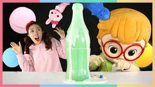 甜蜜的味道〜可愛的卡通沐浴球驚喜開箱 | 凱利和玩具朋友們 | 凱利TV