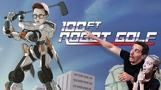 SWINGERS PARTY - 100ft Robot Golf Gameplay with Steven Suptic