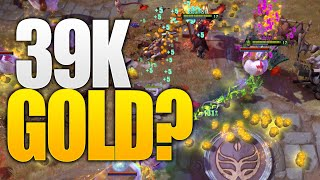 39k Gold The Fowl Feast Aghanim's Labyrinth Summer Event Dota 2