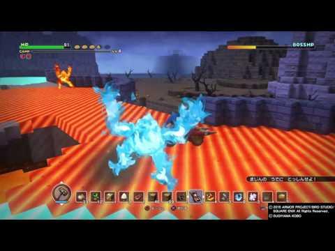 Dragon Quest Builders Chapter 3 Boss Fight Asurekazani