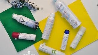 Authentic Store   👉 Review + So sánh 3 xịt khoáng dược mỹ phẩm Pháp: Avene ; Vichy ; Caudalie !