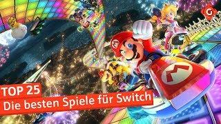 Die 25 besten Spiele für die Nintendo Switch
