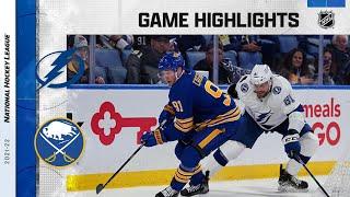 Lightning @ Sabres 10/25/21 | NHL Highlights
