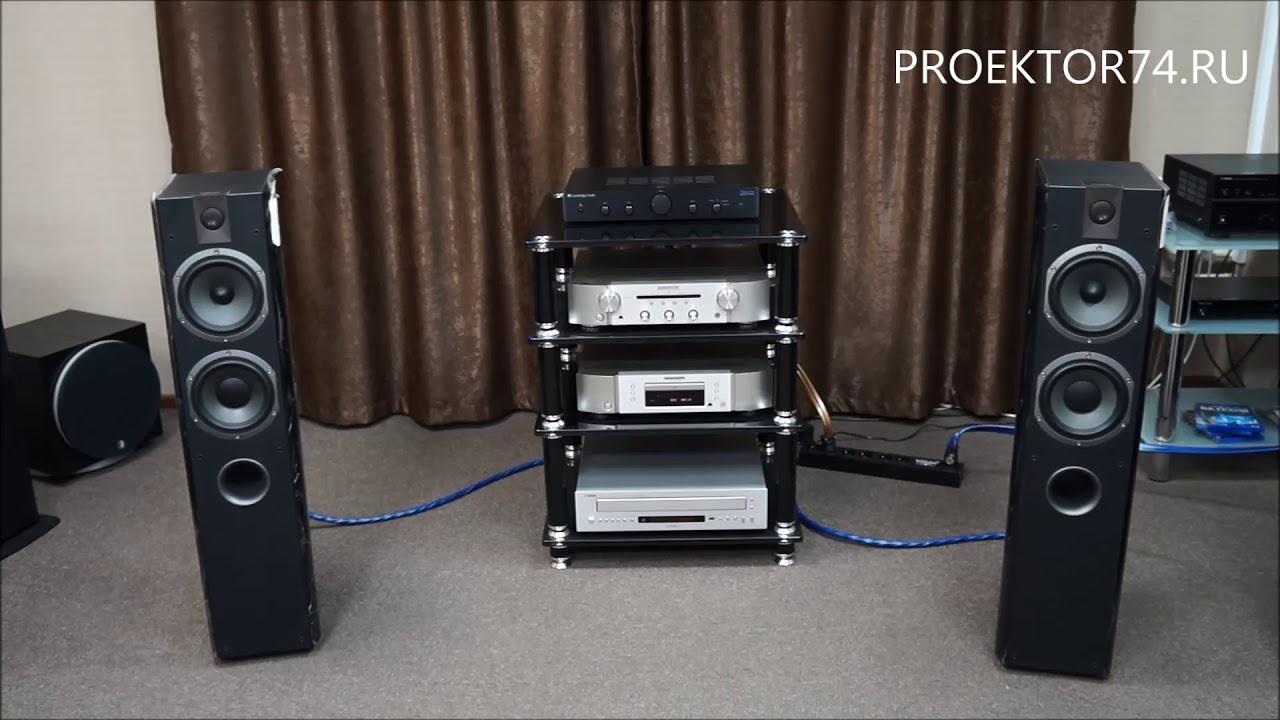 Focal 716V + NAD C326 Bee ,Sound Test, Westfall by Adam Gaca