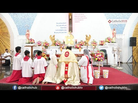 Eucharistic Adoration@ Divine Mercy Church,Annanagar,Chennai,TN. 01-12-17