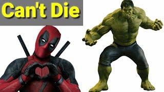 Top 5 Superhero That Can't be die || Explain in hindi