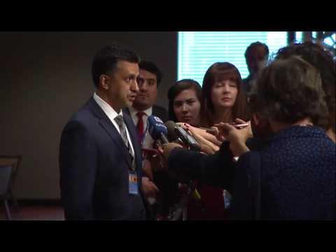Sacha Sergio Llorentty Solíz (Bolivia) on D.P.R.Korea - Press encounter (9 August 2017)