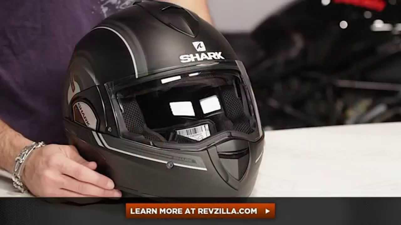 shark evoline 3 st moov 39 up helmet review at youtube. Black Bedroom Furniture Sets. Home Design Ideas