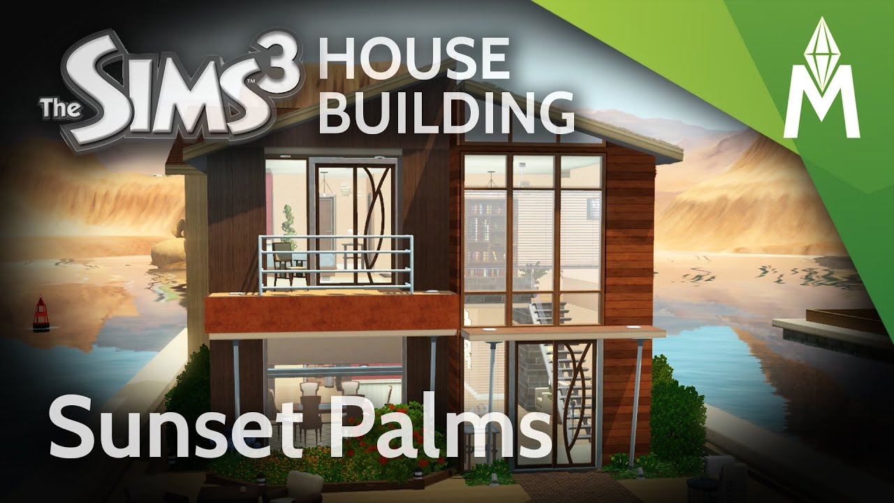 The Sims 3 Hous... Modern Houseboat Floor Plans