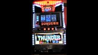 Super Thunder Pachislo [Jackpot Sequence] - Japanese Pachislo - Fruit Machine