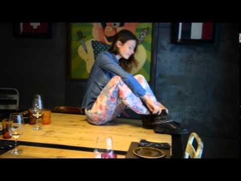 Making Of anaissa  Modelo Eva Babic Otoño_Invierno 2014-2015