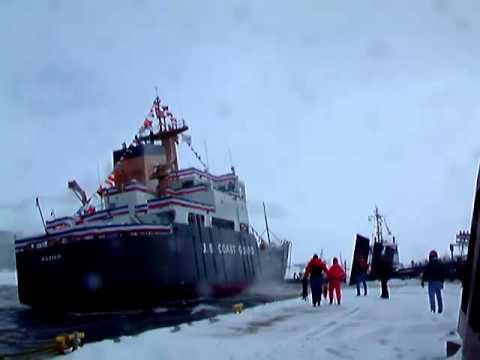 Coast Guard cutter Alder launch