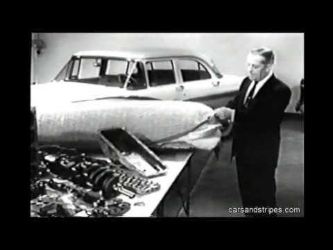 "1956 Chevrolet  - ""Confidential"" Film - Proof of the Pluses"