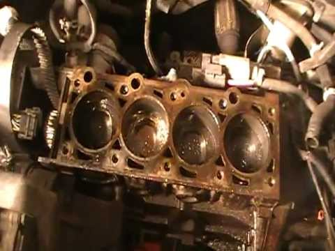 Dropped Valve Seat Focus 2 0l Split Port Sohc Youtube