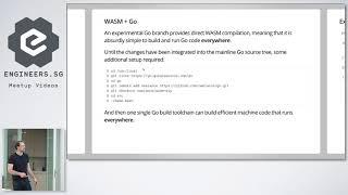 WASM + Go - GoSG
