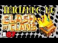 Iniciando no Clash of Clans #07 - Centro de Vila 4 FULL !