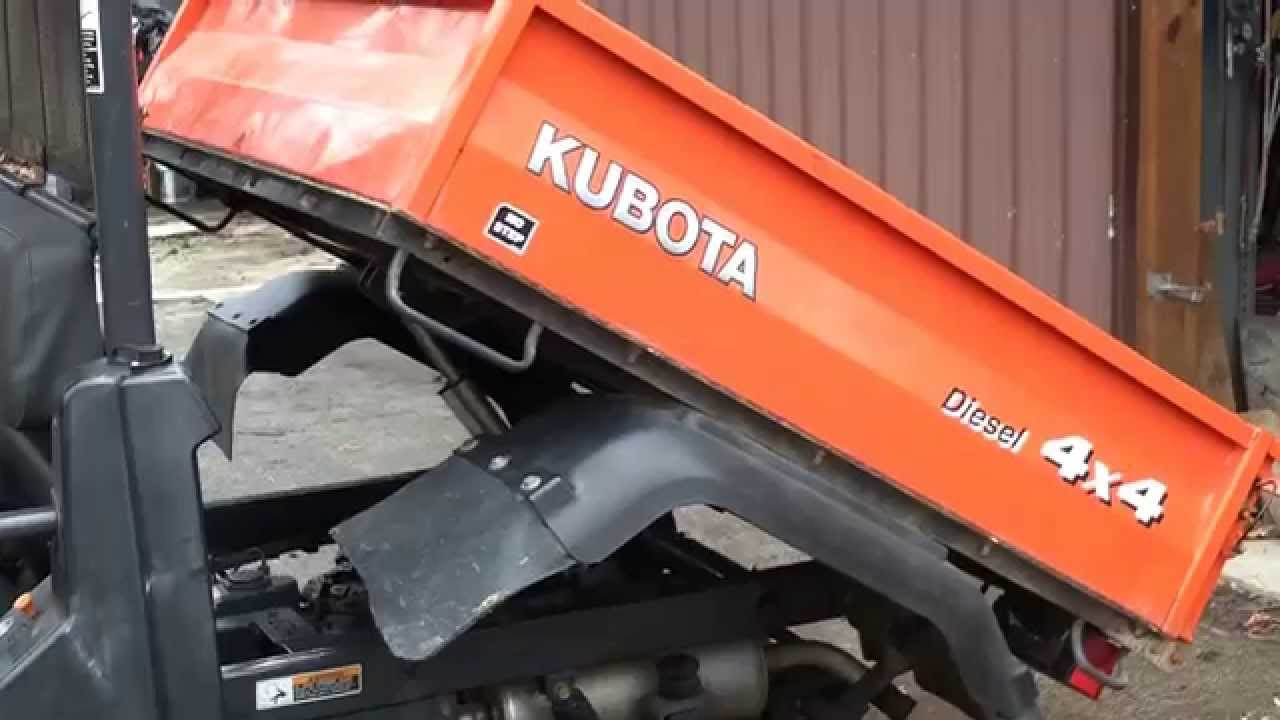 Kubota Lift Cover : Kubota bed lift doovi