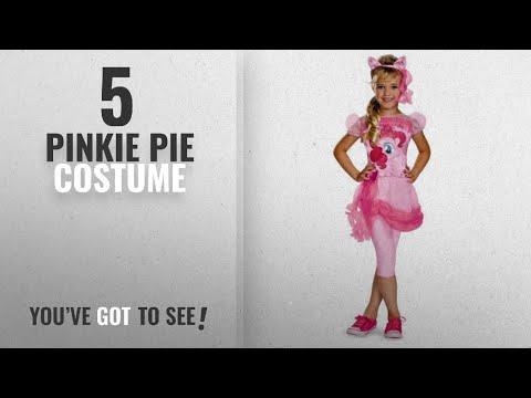 Top 10 Pinkie Pie Costume [2018]: Hasbro's My Little Pony Pinkie Pie Classic Girls Costume,