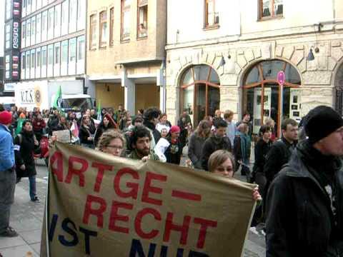 Stuttgart Pelzfrei Demo