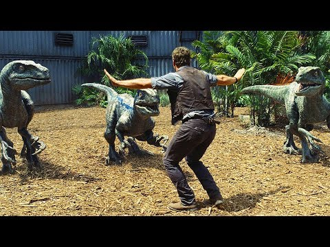 """Stand Down"" Raptors Scene - Jurassic World (2015) Movie Clip HD"