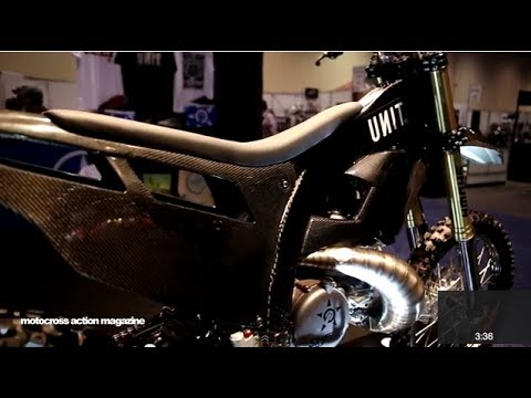 Motocross Action walks around the 1st Annual AimExpo in Orlando, Florida