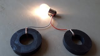 Free Energy with Two Permanent Magnets