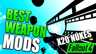 Top 5 / BEST Weapon Console Mods For Xbox One | Fallout 4 Console Mod Showcases