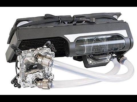 Swiftech H220 X2 Prestige Aio Water Cooling Kit Kompakt Wakü Youtube