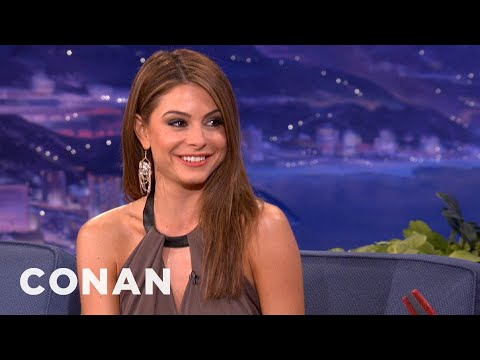 Maria Menounos's Parents Remind Her To Be Sexy  CONAN on TBS