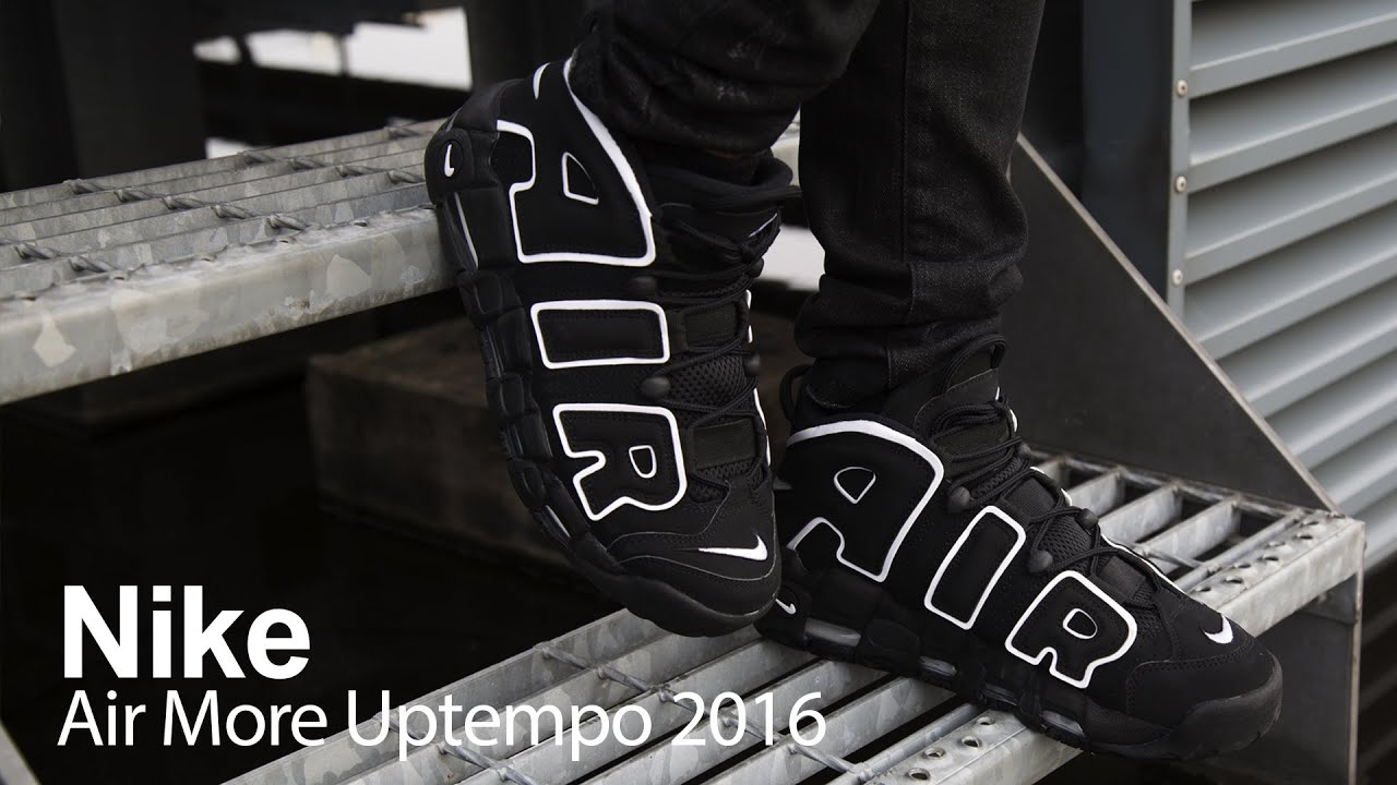 d64bda1f40e2 Review of The Nike Air More Uptempo (2016 Release) - YouTube