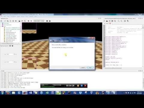 Webots Robot Simulator features by Sastra Robotics